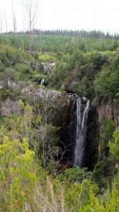 Brackenhill falls, Noetzie river source