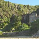 old Noetzie castles before demolition and renovation